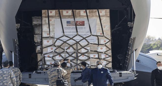 Türkiyə ABŞ-a ikinci yardım təyyarəsi göndərdi