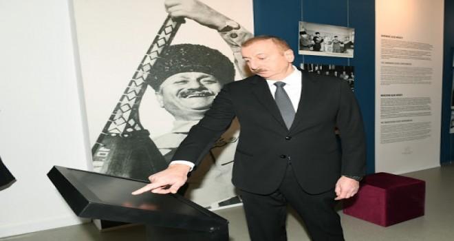 Prezident Mingəçevirdə Muzeyin açlışında iştirak edib