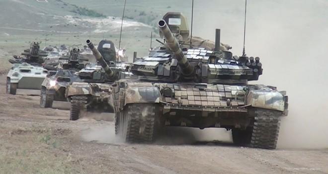 Azərbaycan Ordusu təlimi keçirib - VİDEO