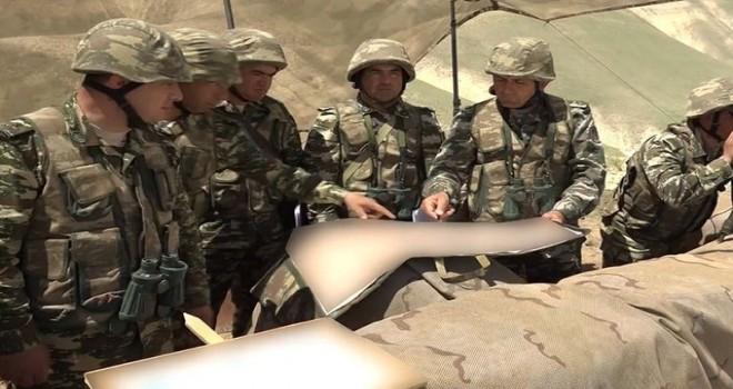 Azərbaycan Ordusunun Naxçıvanda keçirdiyi təlimlər başa çatıb