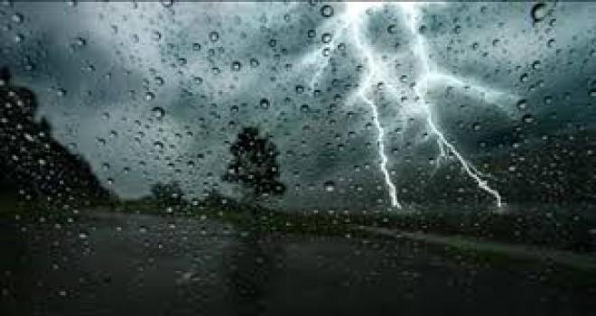 FAKTİKİ HAVA - Şimşək, yağış, sel
