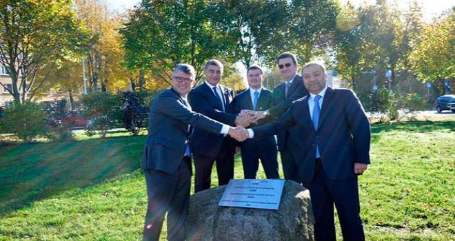 Tallində Azərbaycan-Estoniya dostluq parkının açılışı olub