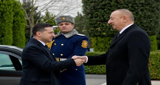 Ukrayna prezidenti İlham Əliyevi təbrik edib
