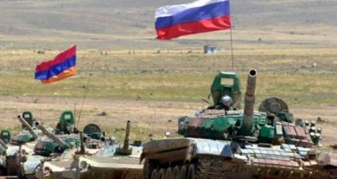 Ermənistan və Rusiya birgə hərbi təlimlər keçirir