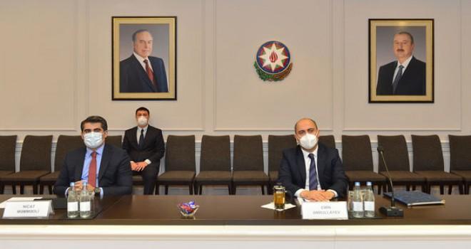 Təhsil naziri Türkiyə səfiri ilə görüşdü - FOTO