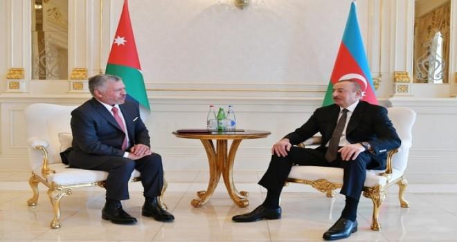 İordaniya Kralı Azərbaycan Prezidentinə məktub yazıb