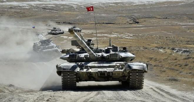 Azərbaycan-Türkiyə birgə genişmiqyaslı taktiki təlimləri davam edir (VİDEO)