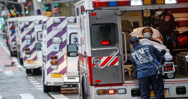 ABŞ koronavirusla mübarizə aparır: 1 gündə daha 1200 ölüm!
