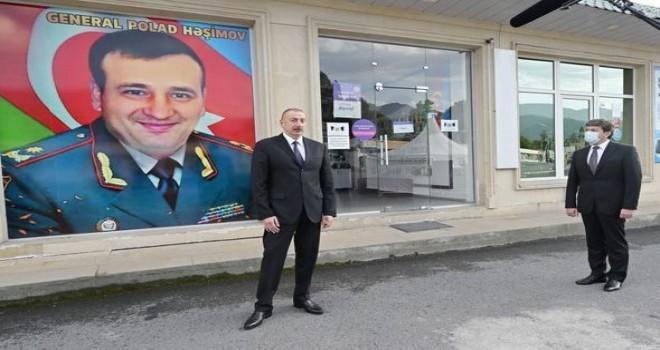 Prezident İlham Əliyev şəhid general Polad Həşimovun adının ədəbiləşdirilməsi barədə göstəriş verdi