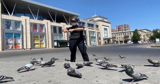 Bakı: Sərt karantin rejiminin ilk günü - FOTO