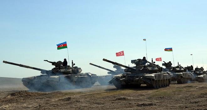 Azərbaycan-Türkiyə birgə genişmiqyaslı təlimləri keçirilir - VİDEO