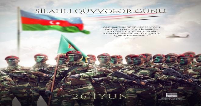 """İlham Əliyev: """"Azərbaycan əsgəri xalqımızın qürur mənbəyidir"""""""