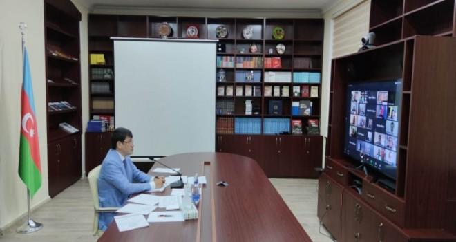 Kanadada yaşayan azərbaycanlılarla videokonfrans keçirilib