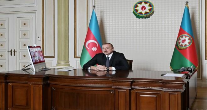 "Prezident İlham Əliyev ""Microsoft""un vitse-prezidenti ilə videokonfransa qatıldı - Foto"