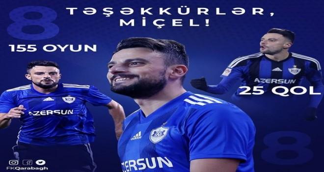 Qarabağ ispaniyalı futbolçu ilə yollarını ayırdı
