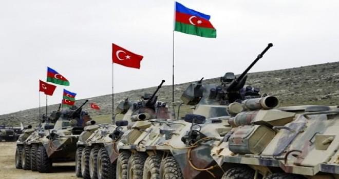 Azərbaycan və Türkiyə ordusu təlimlərə başladı- VİDEO