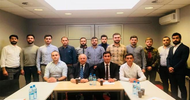 """""""Polşada Azərbaycanlı Gənclər Şurası""""nın hesabat konfransı keçirilib"""