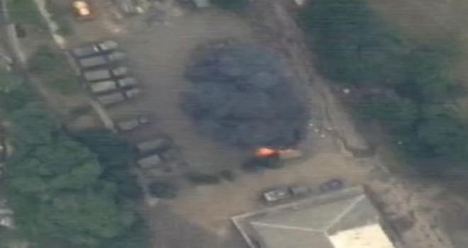 MN: Düşmənin 20-dən çox şəxsi heyəti, hərbi obyektləri darmadağın edilib