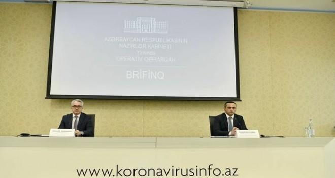 Azərbaycanda koronavirus və karantin rejimi ilə bağlı son vəziyyət açıqlanır - CANLI YAYIM