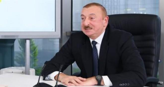 """Prezident İlham Əliyev """"Mir"""" televiziya kanalına müsahibə verib"""