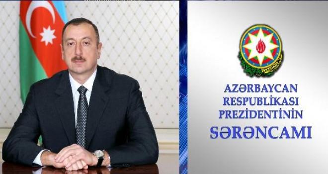 """Prezident Necdet Ünüvarı """"Dostluq"""" ordeni ilə təltif etdi - SƏRƏNCAM"""