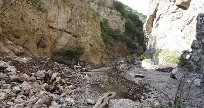 Quba-Xınalıq yolu bağlandı