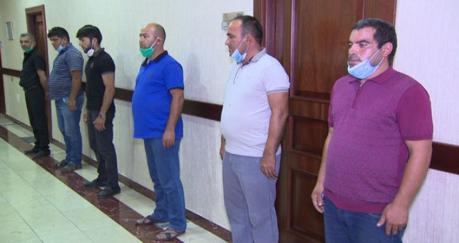 Bakıya torpaq yollarla sərnişin daşıyanlar həbs edildi - FOTO/VİDEO